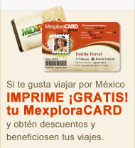 MexploraCARD Tarjeta de descuentos y beneficios para viajes por Mexico